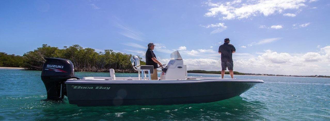 Boca Bay boat