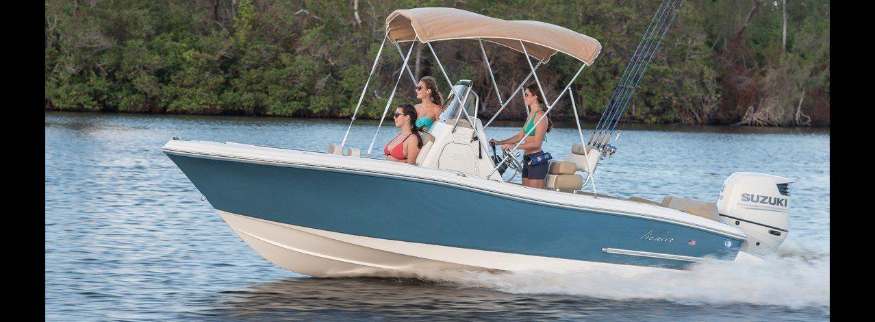 nauticstar 202i boat with canopy